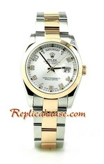 Rolex Day Date Two Tone Swiss Replica watch 04