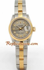 Rolex DateJust Two Tone Ladies - 21