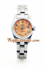 Rolex Replica Datejust Silver Ladies Watch 14