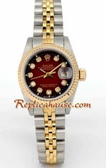 Rolex DateJust Two Tone Ladies - 11