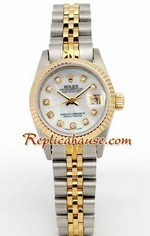 Rolex DateJust Two Tone Ladies - 13