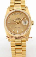 Rolex Day Date Gold Swiss Watch 1