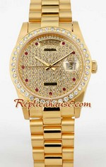 Rolex Day Date Diamond - 2