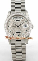 Rolex Day Date Diamond - 3