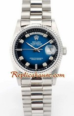 Rolex Day Date Blue/Black Face