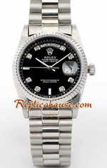 Rolex Day Date Black Face