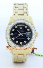Rolex Replica Day Date Gold - 4