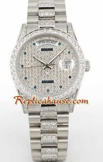 Rolex Day Date Diamond - 4