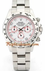 Rolex Replica Daytona - Red Hands White Dial 3<font color=red>หมดชั่วคราว</font>