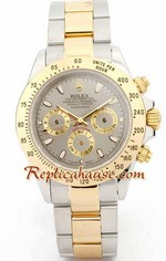Rolex Daytona Two Tone Silver Face - 2