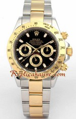 Rolex Daytona Two Tone Black Face - 1