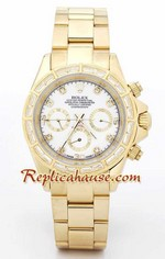 Rolex Replica Daytona Gold Diamond - 07