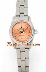 Rolex Explorer Pink Face Ladies