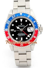 Rolex GMT Silver - Blue/Red Bezel 3