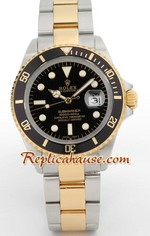 Rolex Submariner 2k Black Face Swiss Watch 1