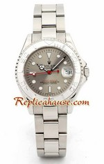 Rolex Yachtmaster Silver 1