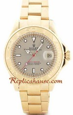 Rolex Yachtmaster Gold Face