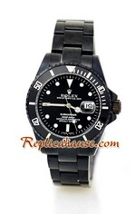 Rolex Submariner Black PVD Watch