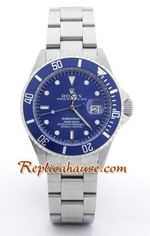 Rolex Replica Submariner Blue Dial