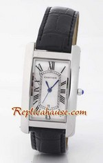 Cartier Tank Americaine Replica Watch - Men