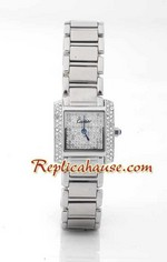 Cartier Tank Francaise DiamondsD - Ladies