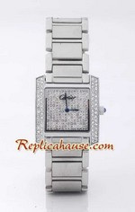 Cartier Tank Francaise Diamonds - Mens