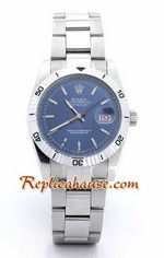 Rolex Replica DateJust Turn-o-Graph Blue Face