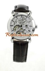 Vacheron Constantin Skeleton Round Replica Watch 02<font color=red>หมดชั่วคราว</font>