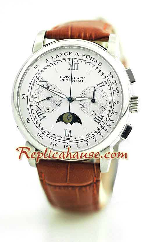 A. Lange & Sohne Datograph Perpetual Swiss Watch 2