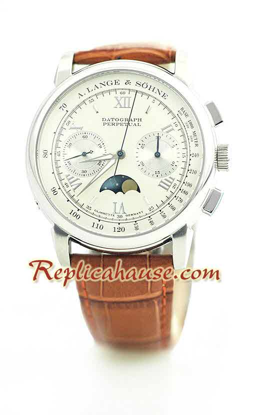 A. Lange & Sohne Datograph Perpetual Swiss Watch 1