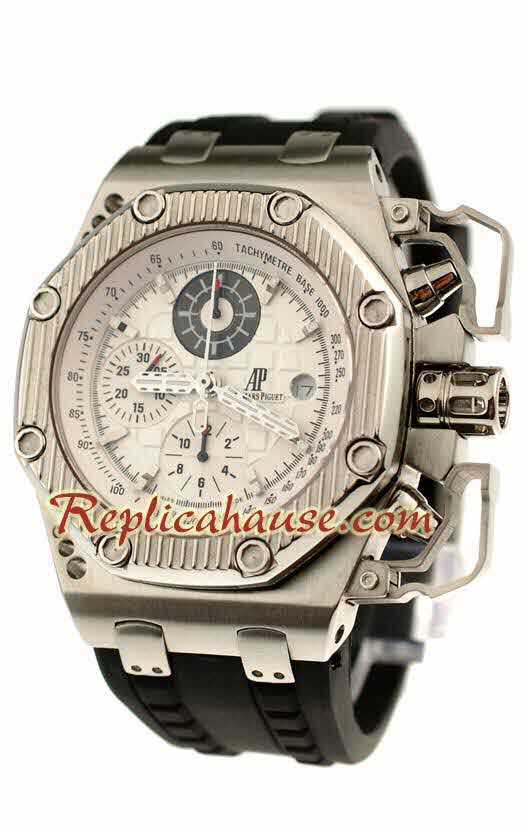 Audemars Piguet Royal Oak Offshore Survivor Chronograph Swiss Replica Watch 06