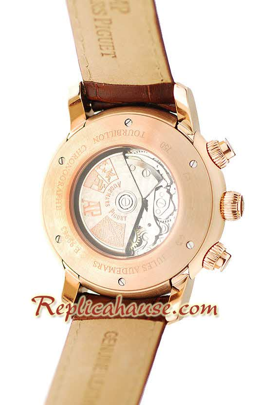 Audemars Piguet Jules Verne Swiss Replica Watch 01