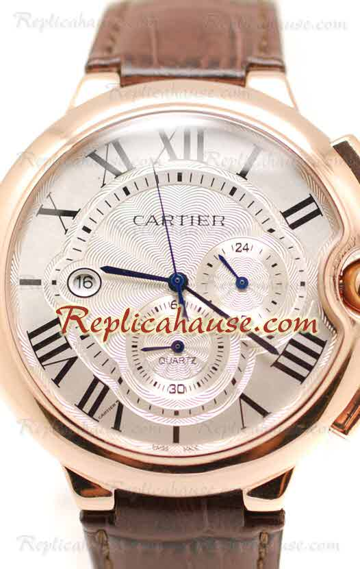 Ballon Blue De Cartier Chronograph Swiss Replica Watch 03