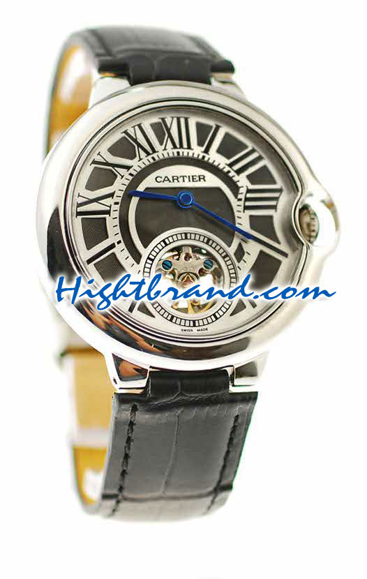 Ballon Blue De Cartier flying Tourbillon Replica Watch 3