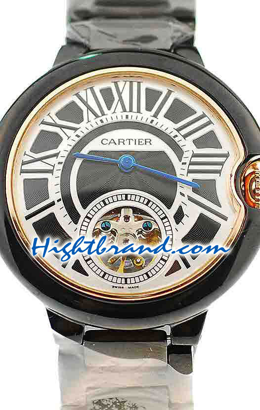 Ballon Blue De Cartier flying Tourbillon Replica Watch 6