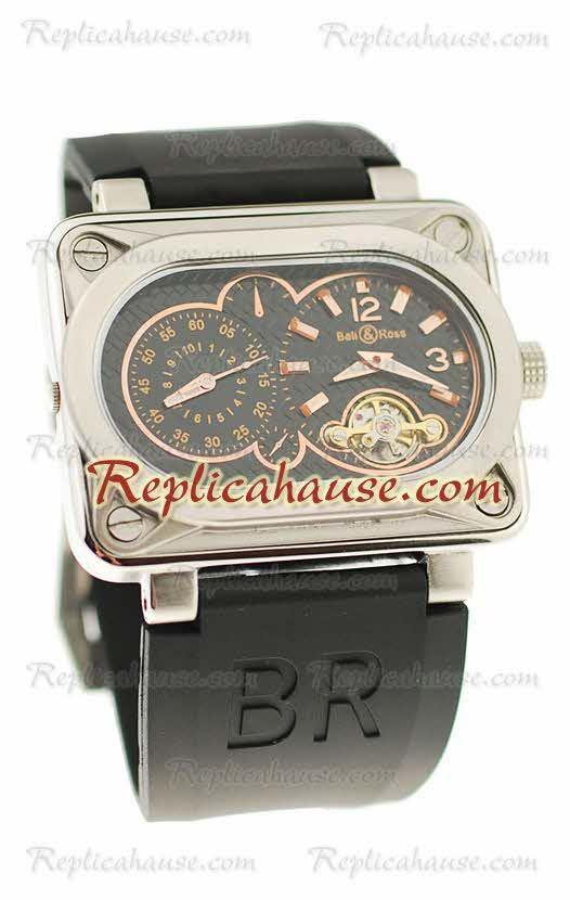 Bell and Ross BR Minuteur Tourbillon Replica Watch 09