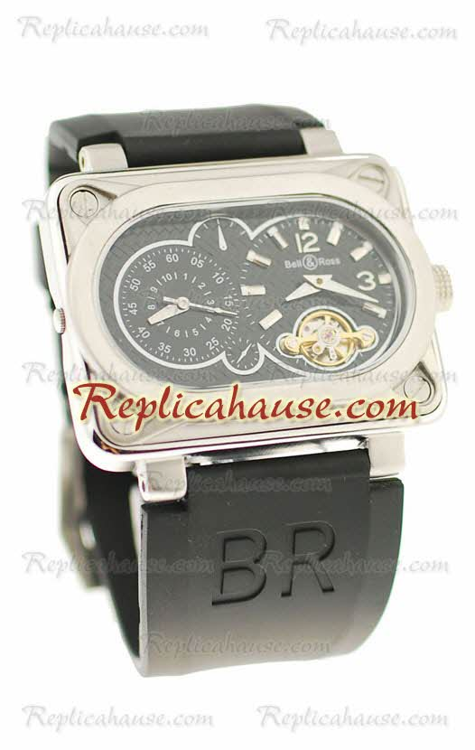 Bell and Ross BR Minuteur Tourbillon Replica Watch 11