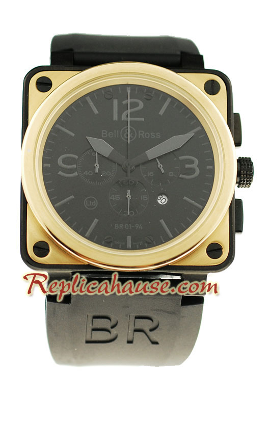 Bell and Ross BR01-94 Edition Replica Watch 5
