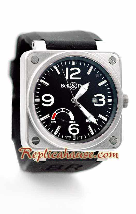 Bell and Ross BR01-97 Power Reserve Swiss Replica Watch 1