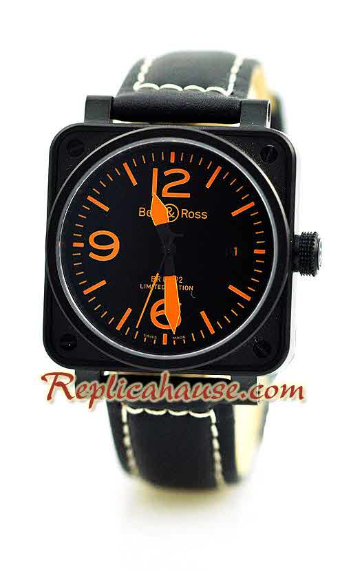 Bell and Ross BR01-92 Limited Edition Swiss Replica Watch 7