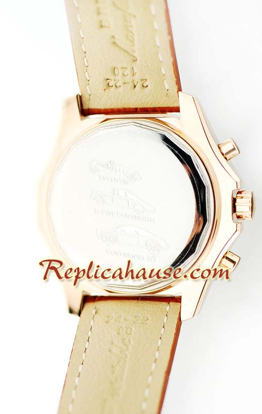 Breitling for Bentley Pink Gold Watch 01