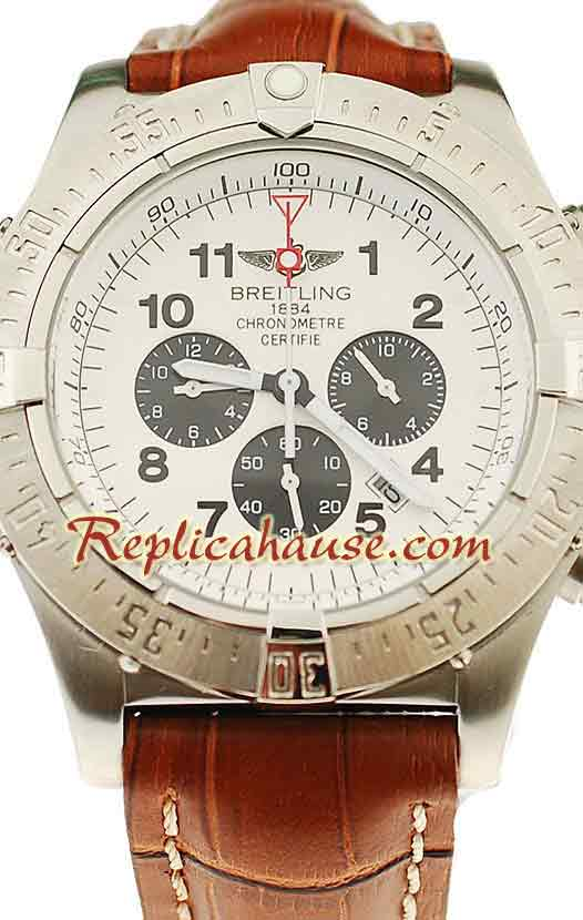 Breitling Chronograph Chronometre Replica Watch 02