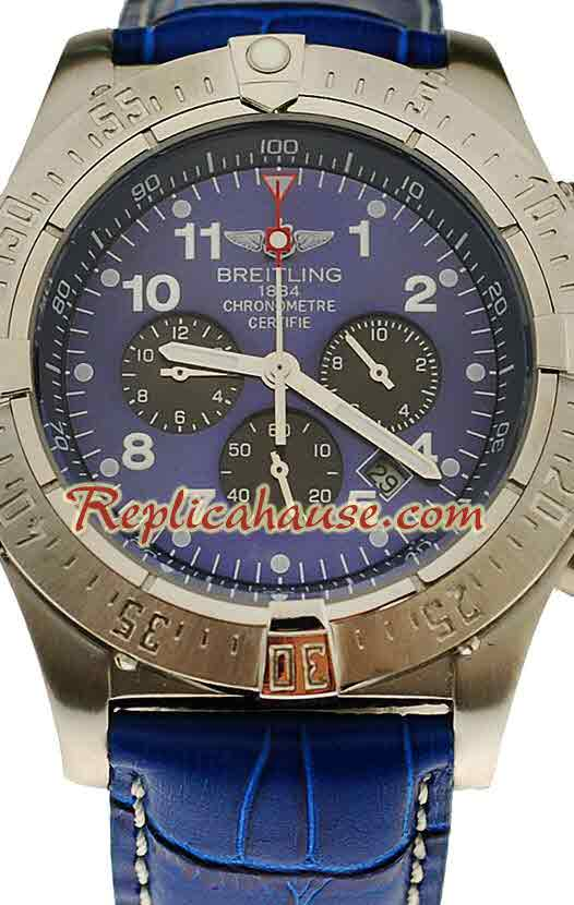 Breitling Chronograph Chronometre Replica Watch 04