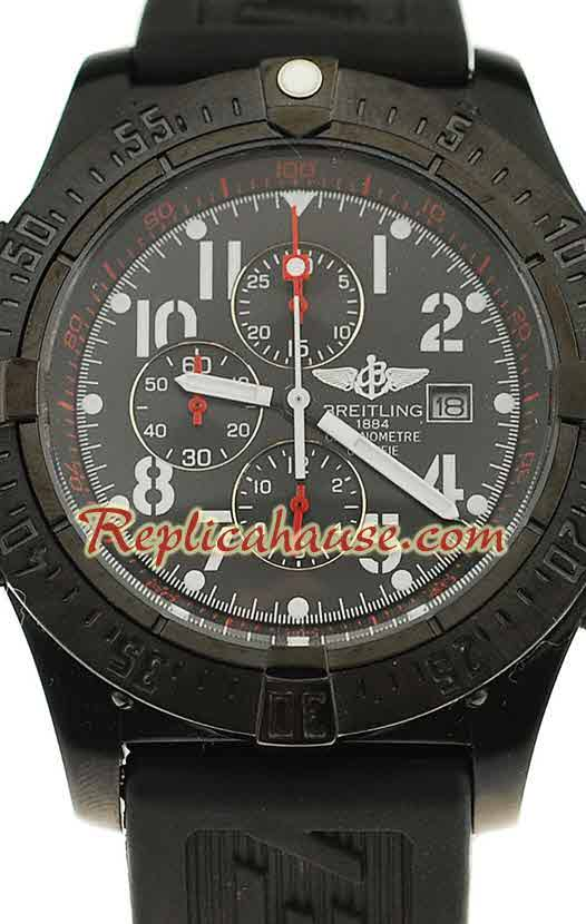 Breitling Chronograph Chronometre Replica Watch 06