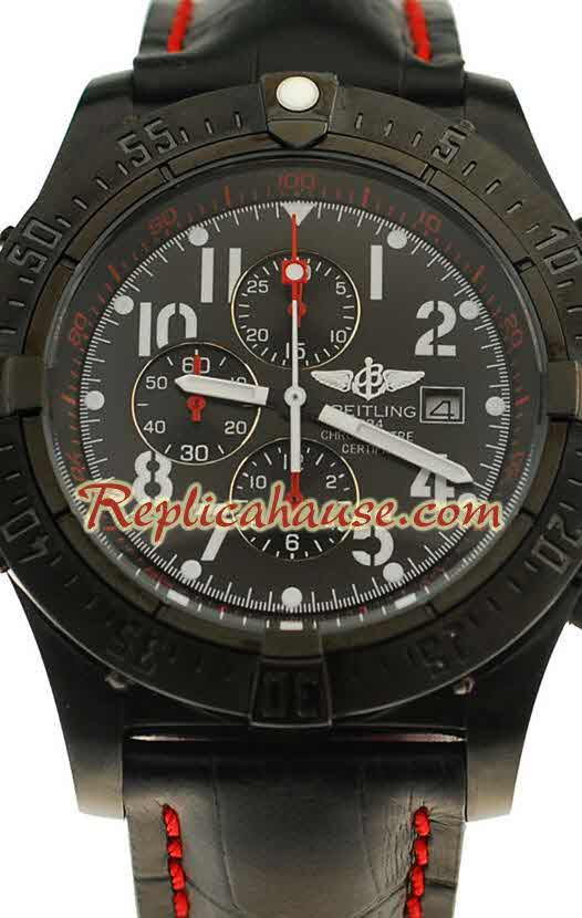 Breitling Chronograph Chronometre Replica Watch 08