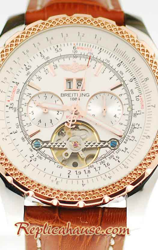 Breitling for Bentley Tourbillon Replica Watch 22