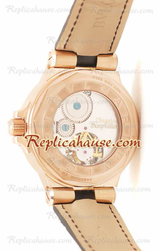 Bvlgari Grandes DIAGONO COMPLICATION tourbillon Replica Watch 01
