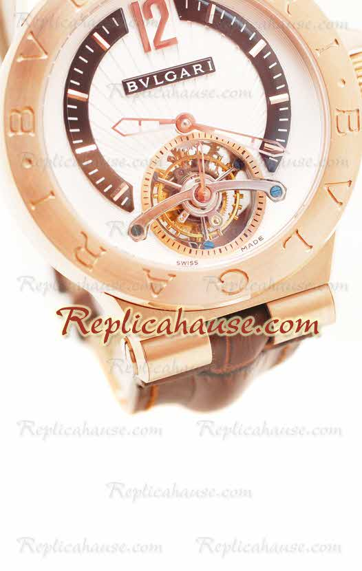 Bvlgari Grandes DIAGONO COMPLICATION tourbillon Replica Watch 03