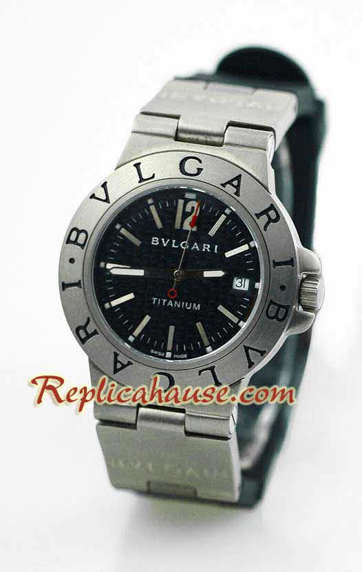Bvlgari Diagono Titanium Swiss Watch