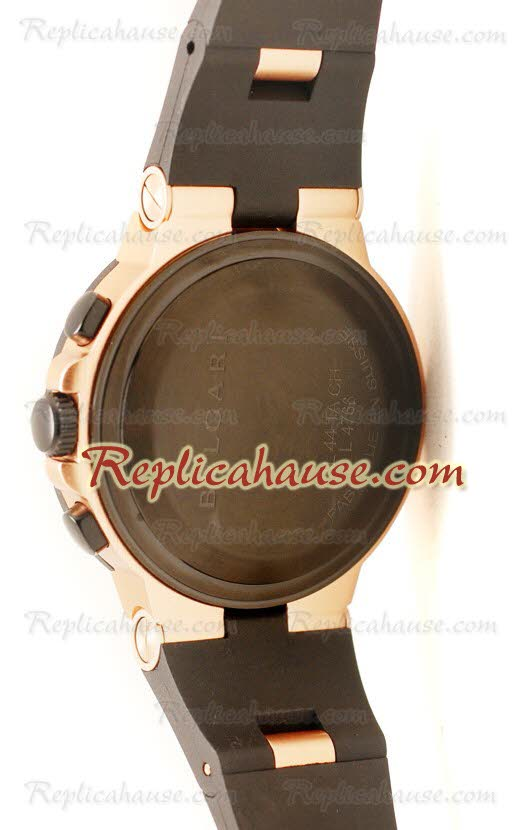Bvlgari Diagono Swiss Replica Watch 20